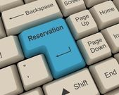 Reservation — Stock Photo