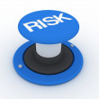Risk Button — Stock Photo