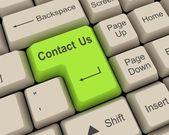 Skontaktuj się z nami — Zdjęcie stockowe