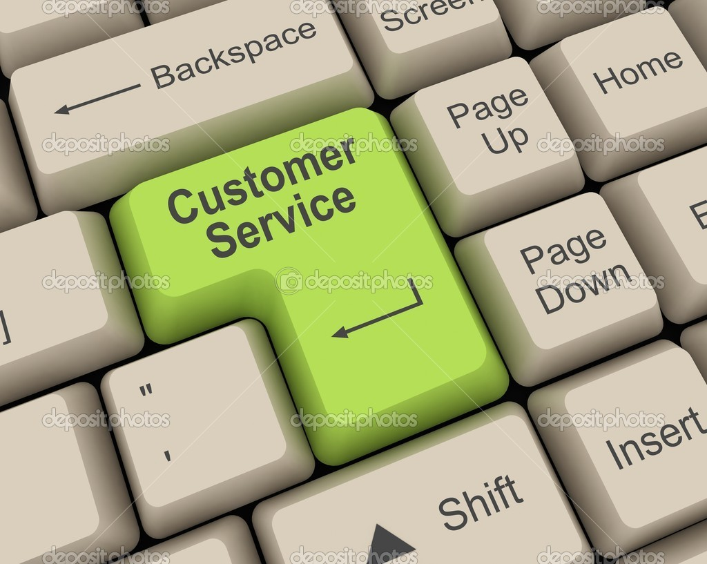 Customer Service Key — Stock Photo #2376773