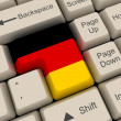 Stock Photo: Germany Flag Key
