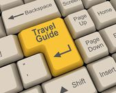 Travel Guide — Foto de Stock