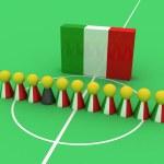 Italy Team — Stock Photo