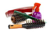 Tooling for a hairdressing salon — Stock Photo