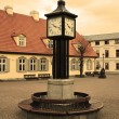 Stock Photo: Town square