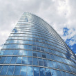 High rise building taken from below — Stock Photo #2398002