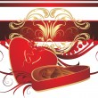 Royalty-Free Stock Vector Image: Decorative box with candies and bow