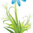 Vector de stock : Spring flower