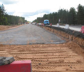 Repair roads — Stockfoto