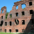 The ruins of  Schlisselburg fortress — Stock Photo