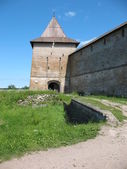Watchtower of Schlisselburg — Stock Photo