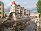 St. Petersburg. Channel Griboyedov view — Stock Photo