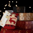Foto Stock: Christmass presents