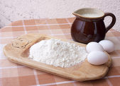 Baking ingredients — Foto Stock