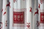австрийские шторы — Стоковое фото