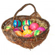 Easter basket — Stockfoto