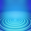 Big concentric ripple middle — Stock Photo #2270363