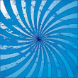 Stock Photo: Blue grunge starburst swirl