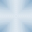 Soft focus halftone blue square — Stock Photo