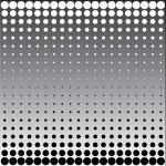 Black white halftone dots — Stock Photo #2273354