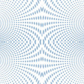 Psychedelic Soft focus halftone blue — Stock Photo