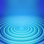 Big concentric ripple middle — Stock Photo