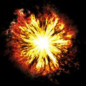 Explosie — Stockfoto