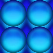 Four big blue marble — Stock Photo