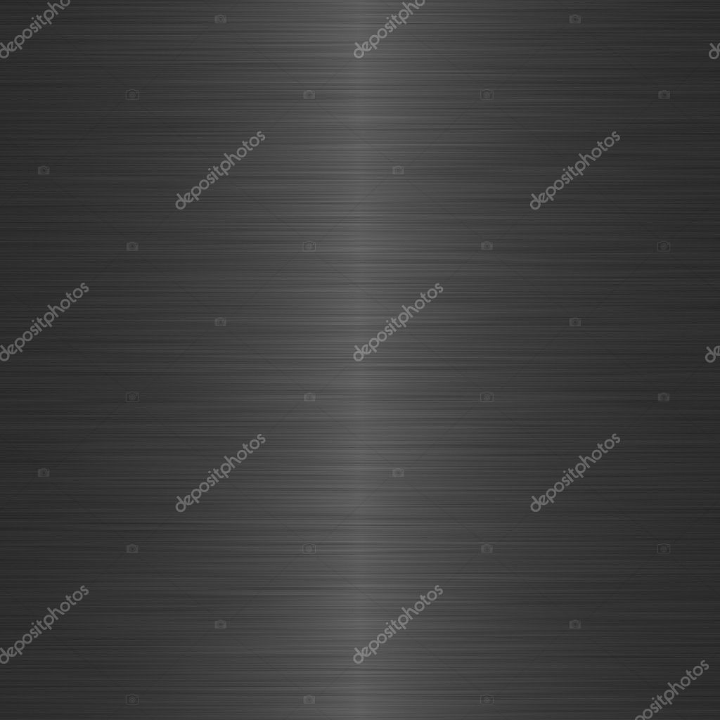 Black brushed metal background with central highlight — Stock Photo #2270501