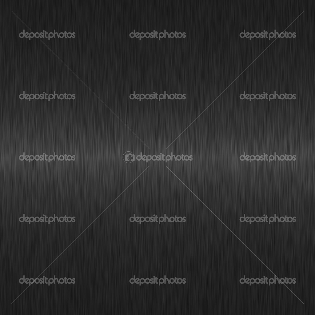 Black brushed metal background with central highlight — Stock Photo #2270555