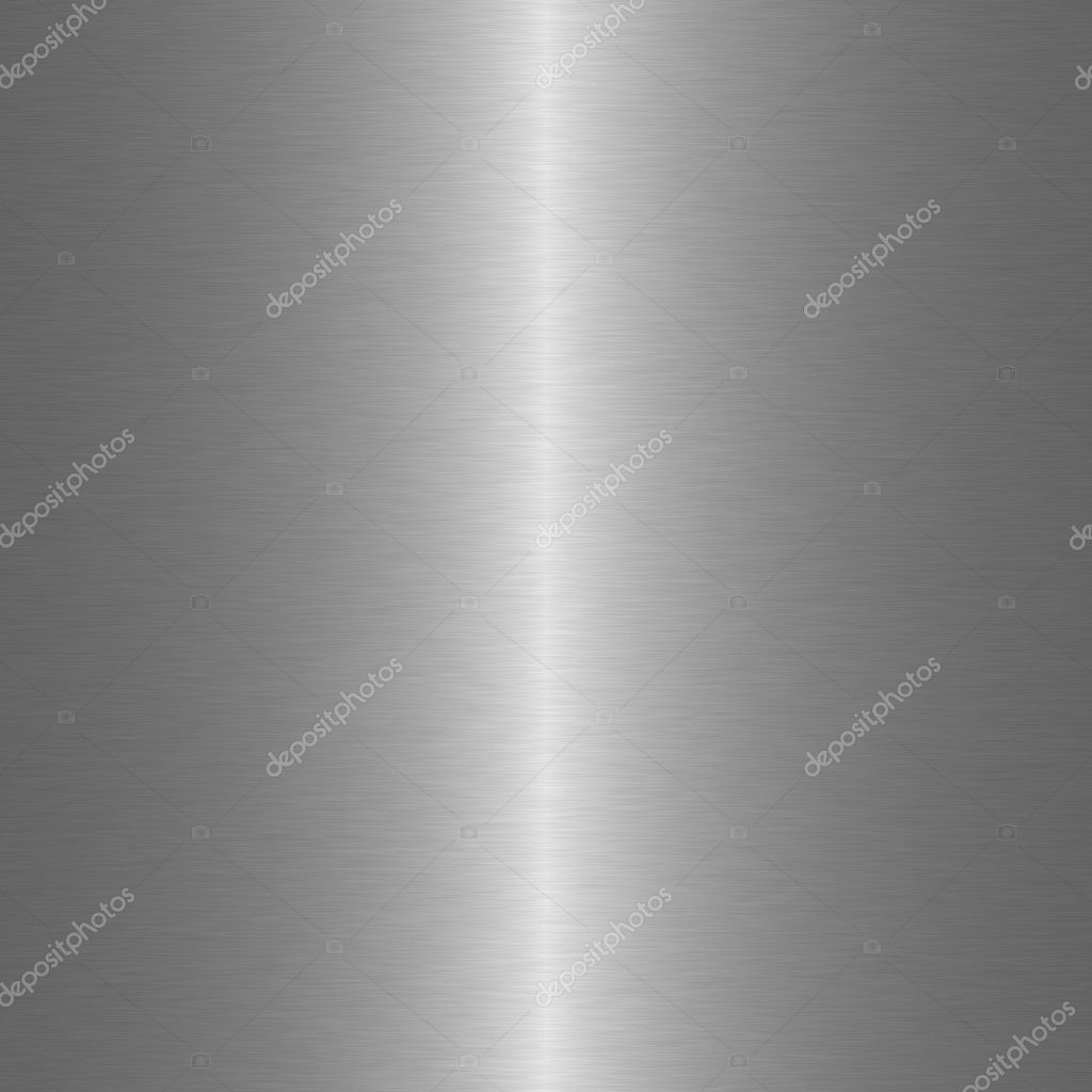 Brushed metal background with central vertical highlight — Stock Photo #2271439