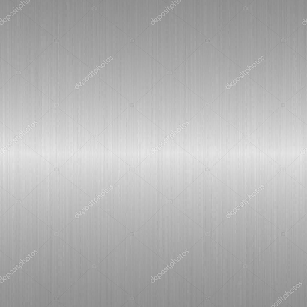 Brushed metal background with central horizontal highlight  Stock Photo #2271582