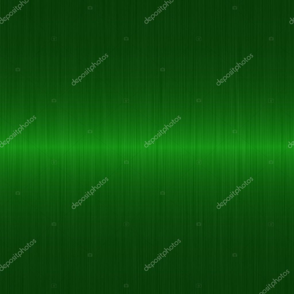 Dark green brushed metal background with horizontal highlight — Stock Photo #2272082
