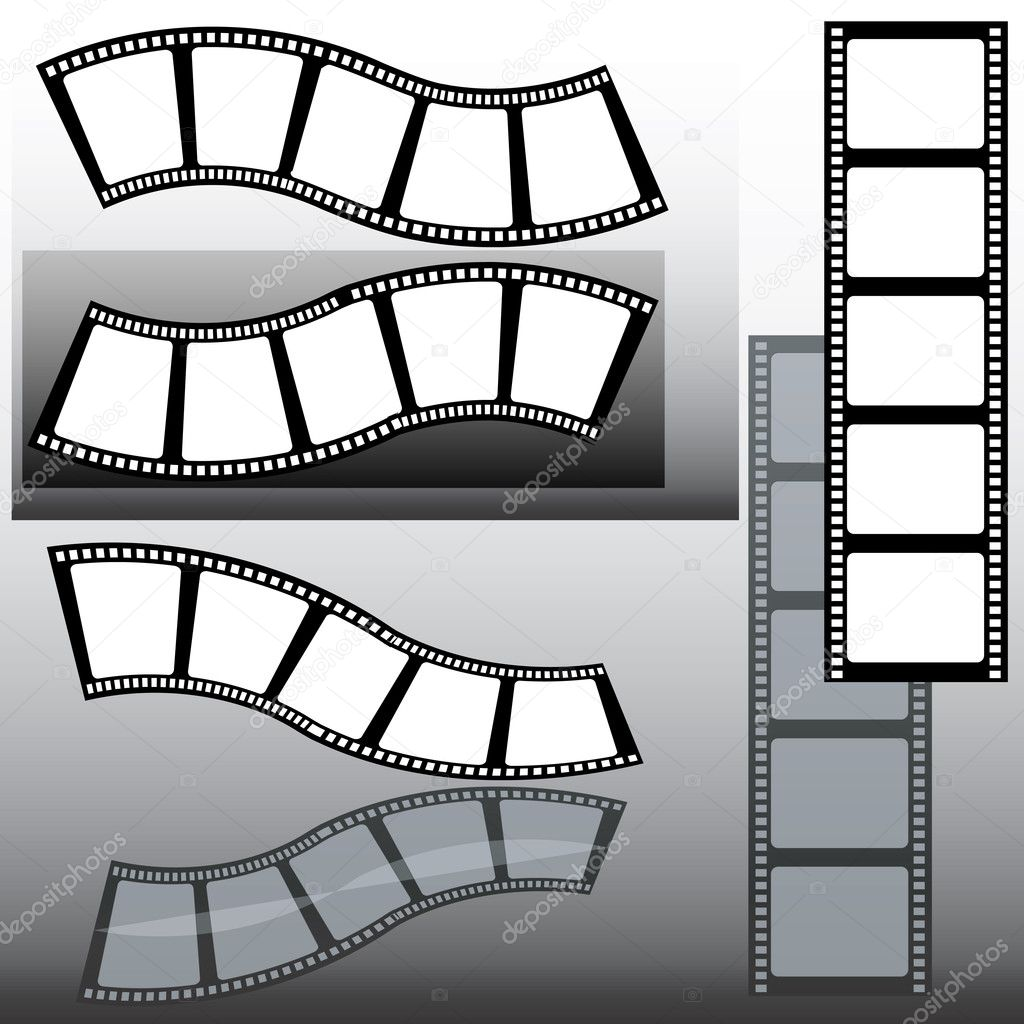 Several film strips — Stock Photo #2272215