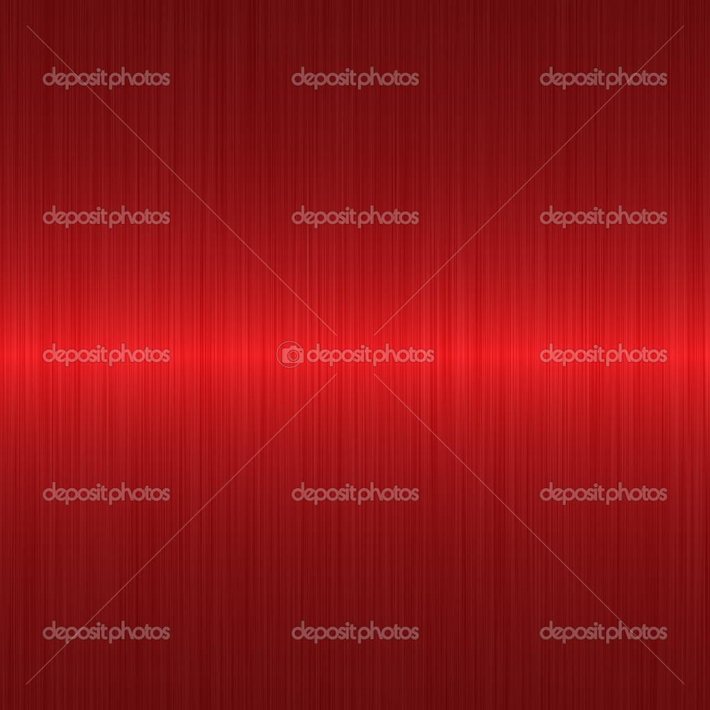 Brushed red metallic background with central highlight — Stockfoto #2278607