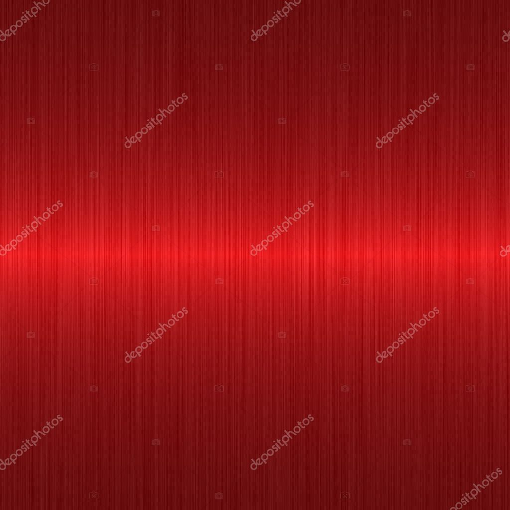 Brushed red metallic background with central highlight — Photo #2278607