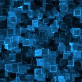 Blue cyber grunge — Stock Photo