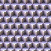 Blue cubes — Stock Photo
