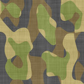 Camouflage fabric — Stock Photo