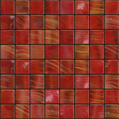 Dark red tiles — Stock Photo
