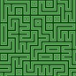 Royalty-Free Stock Photo: Green maze