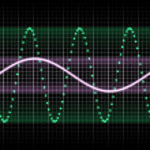 Green soundwave — Stock Photo #2308683