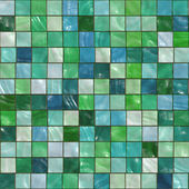 Green tiles — Stock Photo