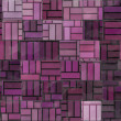 Irregular purple tiles - Stock Photo