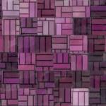 Irregular purple tiles — Stock Photo