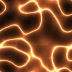 Orange electricity — Stock Photo