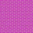 Sl pink brick wall — Stock Photo