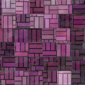 Irregular purple tiles — Stock Photo