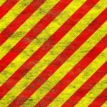 Red yellow grunge hazard — Stock Photo #2508867