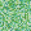 Small green tiles — Stock Photo